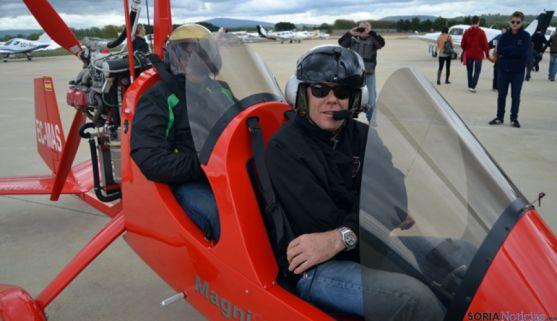 El campeón del mundo de autogiro, Marcos Chuliá