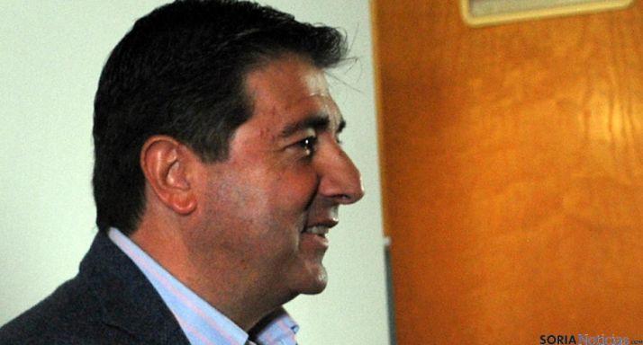 Jesús Ángel Peregrina, secretario provincial del PP soriano. / SN