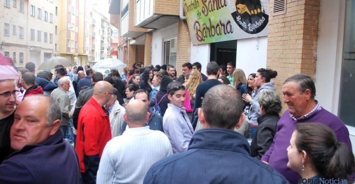 Las calles de Soria se llenan de ambiente sanjuanero. / SN