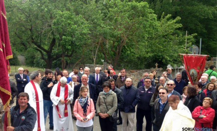 La procesión reúne a toda la comarca