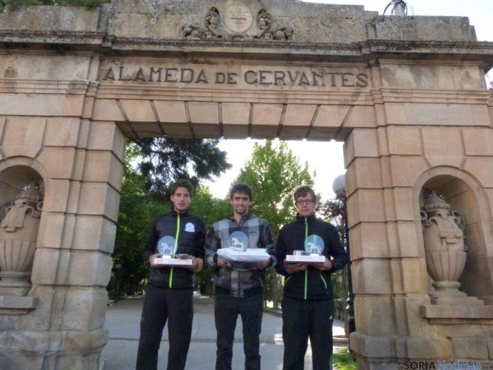 Foto 2 - Joseba Díaz y Eva Fernández, ganadores de la Travesía Alto Duero