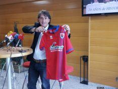 Raúl Ruiz presentando la campaña