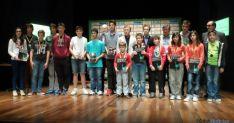 Los jóvenes talentos del ajedrez en León.