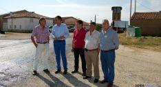 Visita institucional de la Diputación a la carretera. / SN