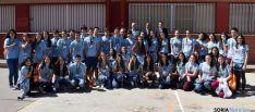 Los participantes en esta iniciativa educativa de la Junta en Soria. / Jta.