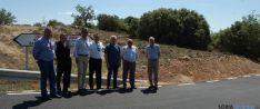 Visita a las obras de mejora Pinilla-Pozalmuro