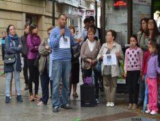 Acto repulsa asesinato en Soria