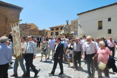 La procesión de la Virgen el sábado. / SN