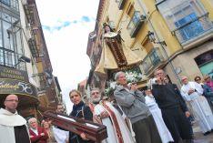 Imagen de la ceremonia de la llegada del bastón. / SN