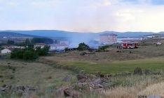El lugar del incendio. / SN