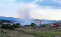 Lugar del incendio. / SN