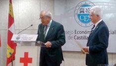 Fernández (izda.) con Varela en la toma de posesión.