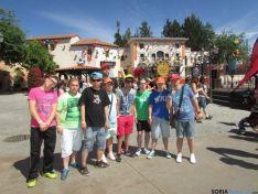 Alumnos del Santa Isabel disfrutando del viaje