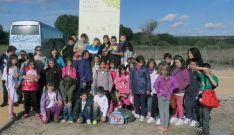Escolares en Las Cuevas.