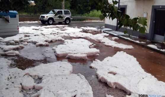 Las granizadas han ocasionado graves daños.
