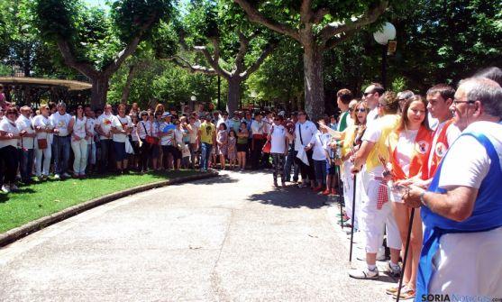 Imagen de este mediodía en La Dehesa. / SN