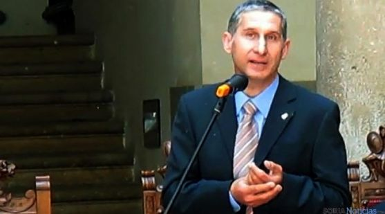 El delegado episcopal de Osma-Soria, Alberto Blanco. / SN