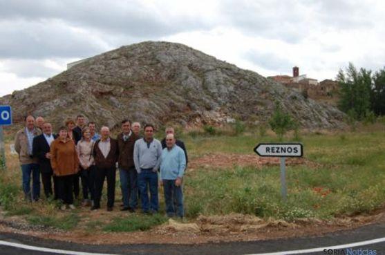 Tramos terminados de carreteras de la Diputación
