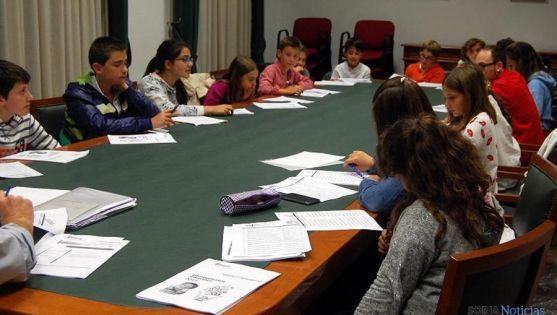 Miembros del Consejo Infantil. / Ayto.