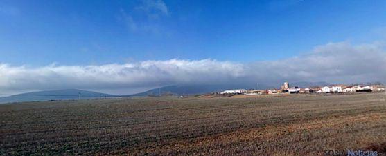 Campos de Hinojosa del Campo esta primavera. / SN