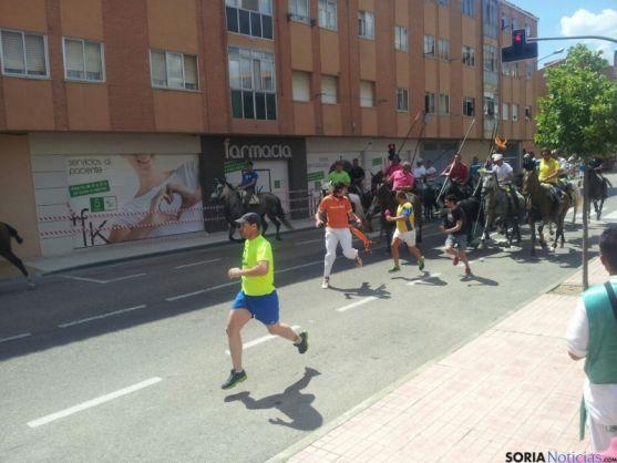 La Saca por las calles de Soria