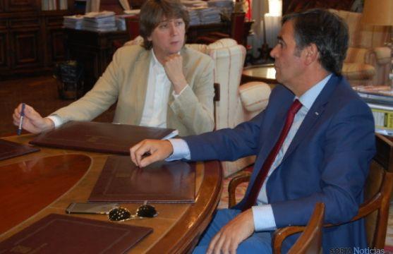 Reunión Carlos Martínez y Antonio Pardo