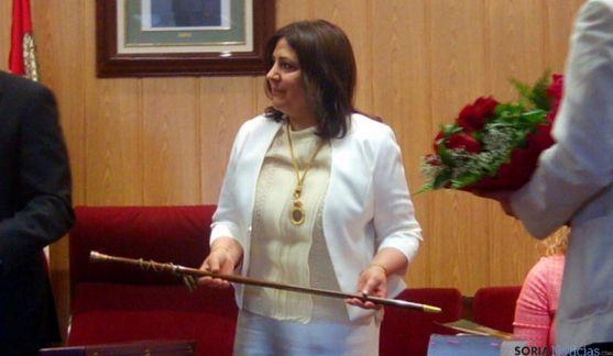 Imagen de la toma de posesión de María Luisa Aguilera. / SN
