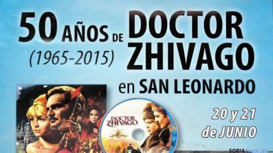 Cartel Doctor Zhivago en San Leonardo
