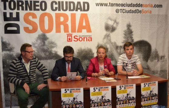 Presentación Torneo Ciudad de Soria