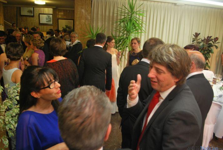 La llegada de los doce jurados al ayuntamiento. / SN