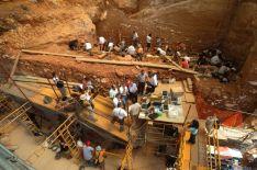 Imagen de las excavaciones en el yacimiento. / Jordi Mestre