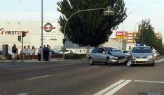 Los dos vehículos tras el accidente. / SN