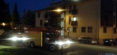 Los bomberos en el lugar de la llamada. / SN