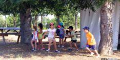 Niños en el campamento de este año. / Subdeleg.