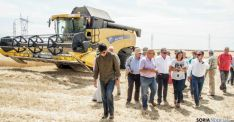 La consejera de Agricultura, en Palencia