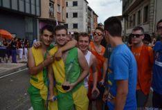 Foto 6 - Tres peñas se reparten el momento 'pregón' desde la Consistorial de San Leonardo