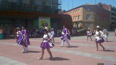 La comunidad iberoamericana celebra en Soria la fiesta de Santiago de Bombori