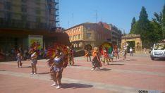 Foto 2 - La comunidad iberoamericana celebra en Soria la fiesta de Santiago de Bombori