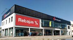 Exterior del establecimiento en Soria.