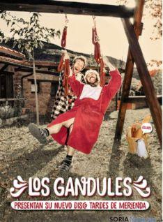 Portada del disco de Los Gandules.