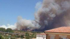 Incendio en Barcebalejo