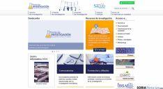 La nueva web sobre investigación sanitaria de la Junta.