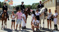 Los jinetes sorianos en Segovia.