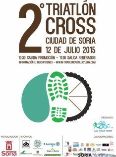 Cartel del Triatlón de Soria