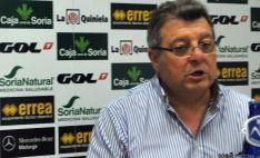 Martín, consejero delegado del Numancia./SN