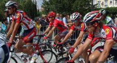 Ciclistas por Burgos