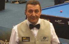 Pozo, jugador de billar del C.A.Numancia