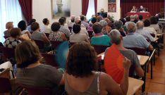 La conferencia sobre las dos religiosas. / SN