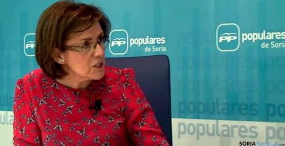 La presidenta del PP soriano, Marimar Angulo. / SN