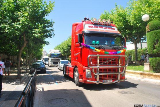 Bendición de vehículos en San Cristóbal. / SN